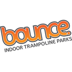 Bounce Indoor Trampoline Parks Logo