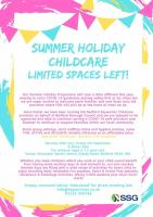 SSG Summer holiday Programme - COVID 19