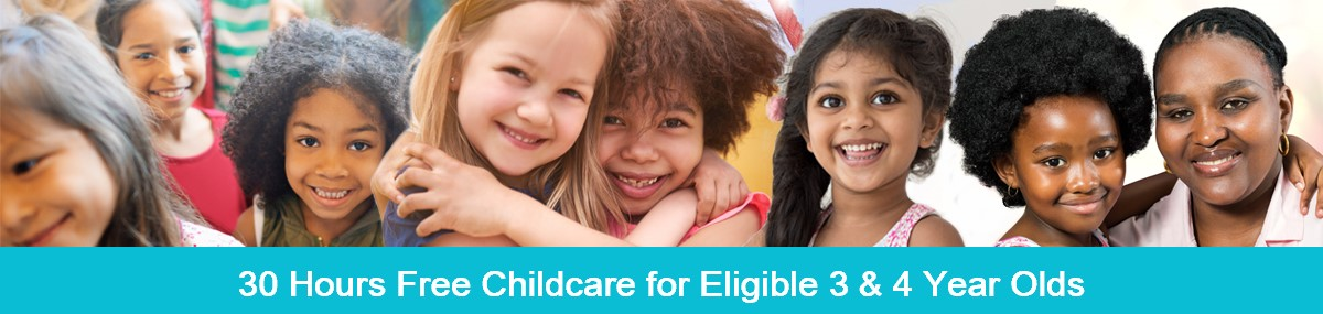 30 hrs free childcare for 3 & 4 year olds