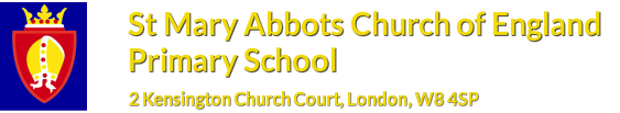 St Mary Abbots CE Primary School logo