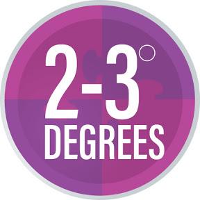 2-3degrees logo