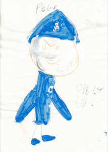 Edward painted a brilliant picture of himself as a police officer