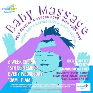 Baby Massage flyer