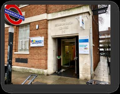 Image showing Bessborough Family Hub entrance