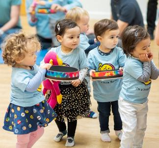 Heigh-Ho classes Toddlers from 12 months