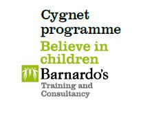 Logo for Barnardo's Cygnet programme