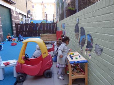 Image of children of nursery