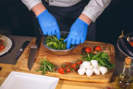 Image of food preparation
