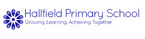 Logo for Hallfield Primary School