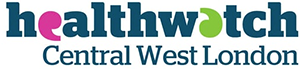 Logo for Healthwatch Central West London