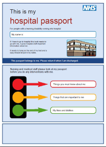 Picture of the Imperial College Healthcare NHS Trust Hospital Passport