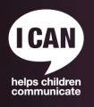Logo for I CAN. The slogan reads