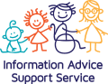 Information Advice Support Service logo.