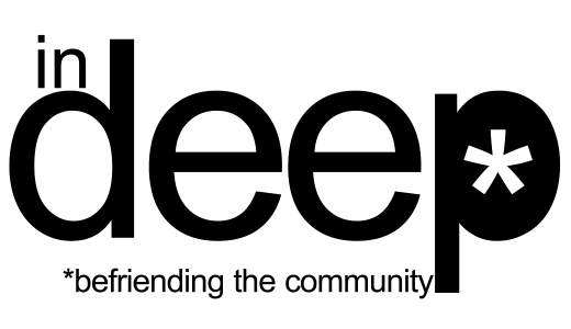 Logo for in-deep charity.