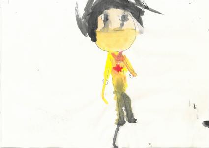 John painted a super portrait of himself as a neurosurgoen