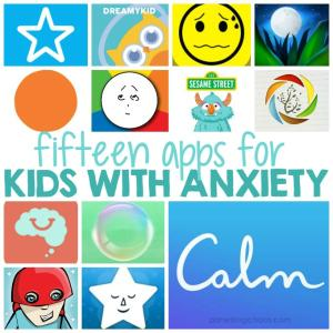Kids with anxiety