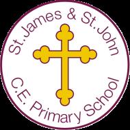 St James and St John CE School logo