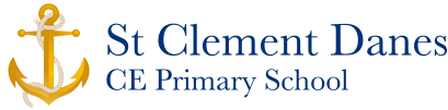 St Clement Danes CE Primary School logo