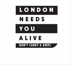 London Needs You Alive Logo