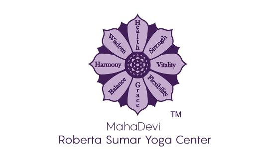 Logo for the MahaDevi Yoga Centre
