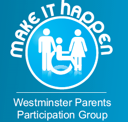 Westminster Parents Participation Group logo. The slogan reads