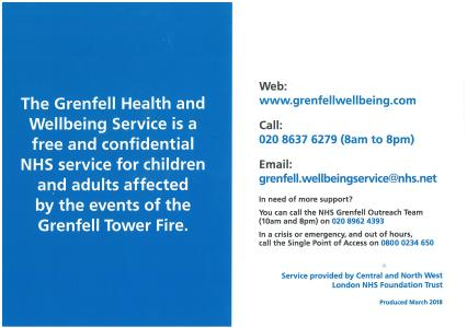 NHS Grenfell Health and Wellbeing Service