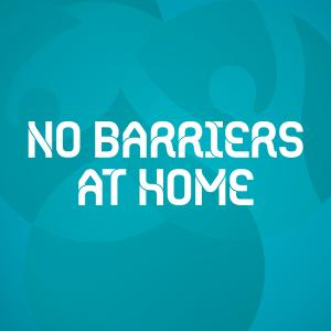 No Barriers at Home logo