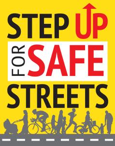 Step up for Safe Streets Logo