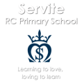Servite RC Primary School logo
