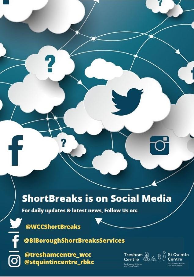 ShortBreaks is on social media