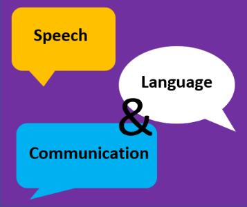 Three speech bubbles reading
