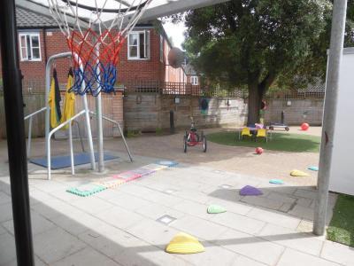 image of nursery playground