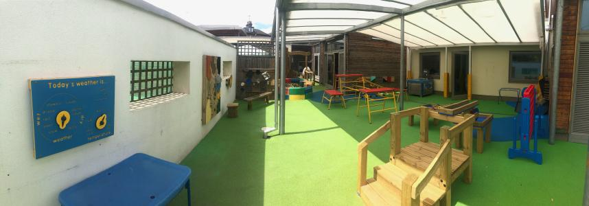 St Quintin's outdoor play area
