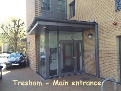 Tresham - Main entrance