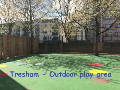 Tresham - Outdoor play area
