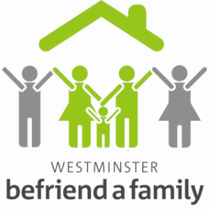 Westminster Befriend a Family logo.