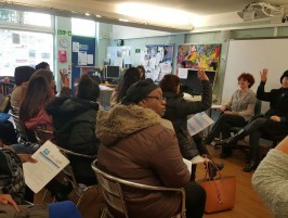 Photo of a WPPG Parent drop-in