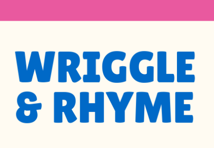Wriggle and Rhyme logo