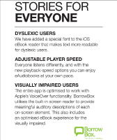 BorrowBox Accessibility Features