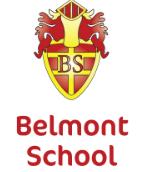 Belmont School badge