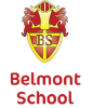 Belmont School badge