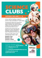 Science Clubs Youthzone, Blackburn