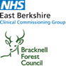 EBCCG, BFC NHS joint logo
