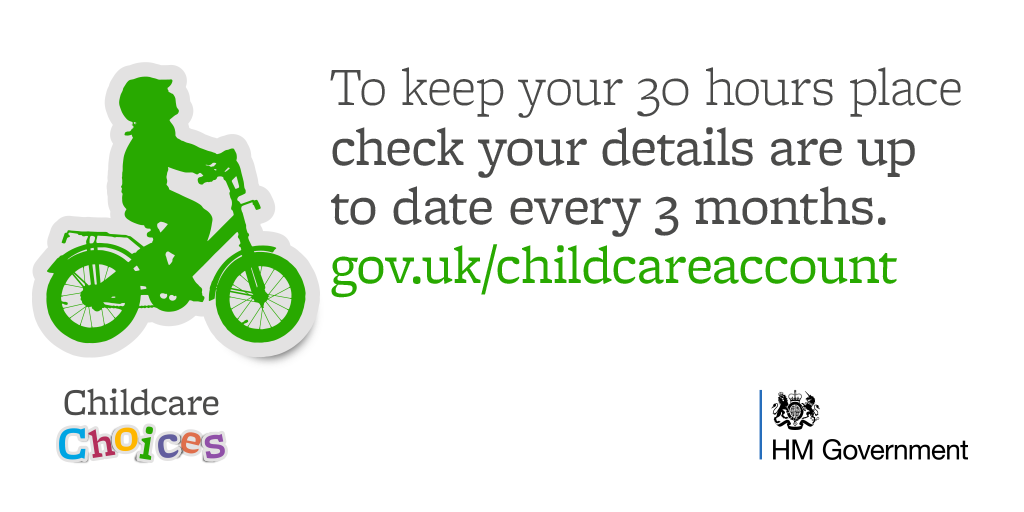 30hrs, tax free childcare & funded childcare information from hmrc ...