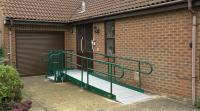 Modular Rapid Ramp to a home