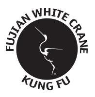 Fujian White Crane Kung Fu badge logo