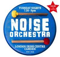 Noise Orchestra Camden Logo-Flyer