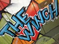Our graffiti-ed building is hard to miss. Drop by and say hello!