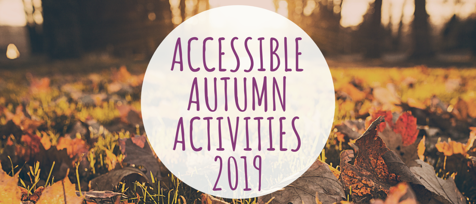 Accessible Autumn Activities for Children and Adults