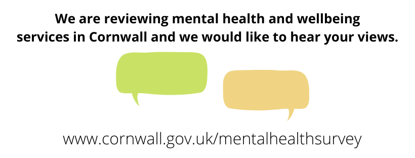 We are reviewing mental health and wellbeing services in Cornwall and we would like to hear your views.